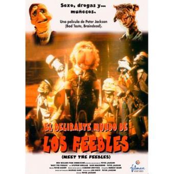 El delirante mundo de los feebles - DVD