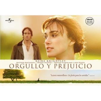 Orgullo y prejuicio - DVD Ed Horizontal