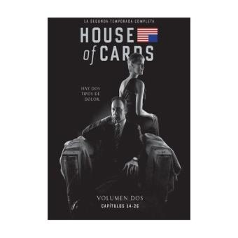 House of CardsHouse Of Cards  Temporada 2 - Blu-Ray