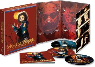 MORTAL ZOMBIE RETURN OF THE LIVING DEAD III - BLU-RAY + DVD NUEVO Y PRECINTADO