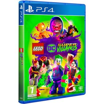 LEGO DC Supervillanos PS4