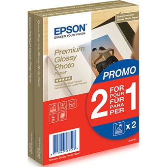 Epson S042167 Papel 10 x 15 cm 40 hojas Pack 2 x 1