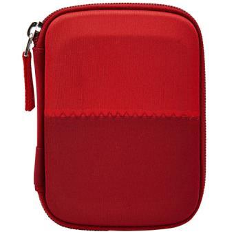 "Funda para Disco duro portátil Case Logic HDC11R 2,5"" Granate / Rojo"