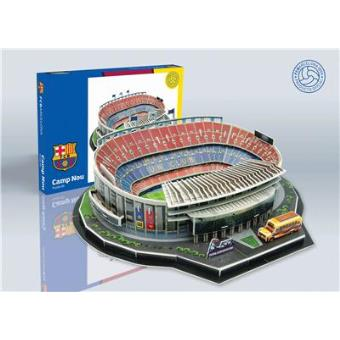 Camp Nou Puzzle 3D del Estadio del F.C. Barcelona