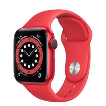 Apple Watch S6 40mm LTE Caja de aluminio (PRODUCT) RED y correa deportiva Rojo