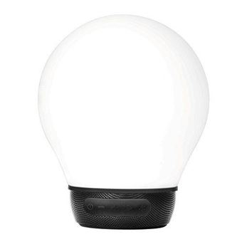 Altavoz Bluetooth Divoom Aurabulb Blanco y negro