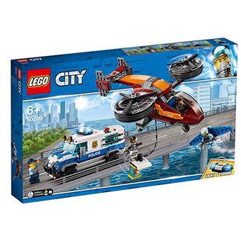 LEGO City Police 60209 Policía Aérea: Robo del Diamante
