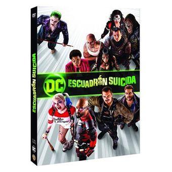 Escuadrón suicida Ed 2018 - DVD