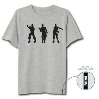 Camiseta Fortnite Floss Dance Gris - Talla XL
