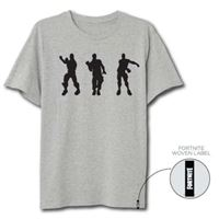 Camiseta Fortnite Floss Dance Gris - Talla XL