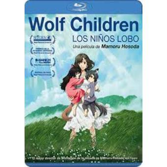 Wolf Children - Blu-Ray