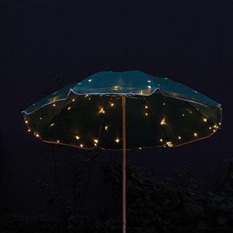 Guirnalda solar para sombrilla