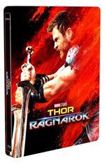 Thor: Ragnarok - Steelbook Blu-Ray + 3D  Ed Limitada