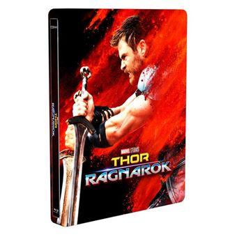Thor: Ragnarok - Steelbook Blu-Ray + 3D - Ed Limitada