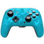 Mando PDP Faceoff Azul camuflaje para Nintendo Switch