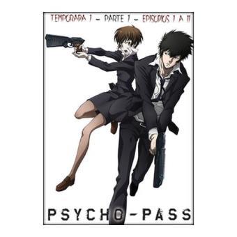 Psycho Pass - Temporada 1 Parte 1 - DVD