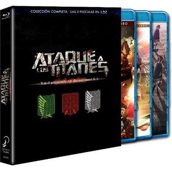 Pack Ataque a los Titanes: 3 películas - Blu-Ray