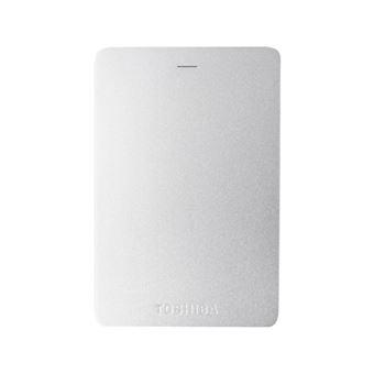 Disco duro externo portátil Toshiba Canvio Alu 2.5'' 1TB Plata