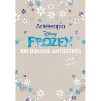 Arteterapia. Disney Frozen. 100 dibujos antiestrés