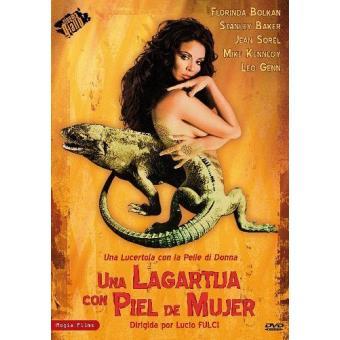 Una lagartija con piel de mujer - DVD