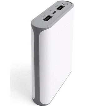 Powerbank Temium 10000 mAh USB-1 A Blanco