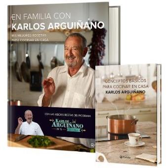 Pack En familia con Karlos Arguiñano + Conceptos básicos para cocinar en casa