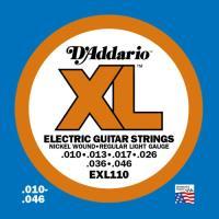 Cuerdas guitarra eléctrica D'Addario EXL-110