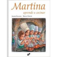 Martina aprende a cocinar