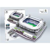 Santiago Bernabéu Puzzle 3D del Estadio del Real Madrid C.F.