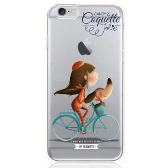 62b9f0fb7d2 Funda Coquette Bicicleta para iPhone 7 Transparente - Funda para ...