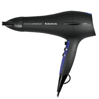 Secador de pelo Taurus Fashion Ultraviolet Negro