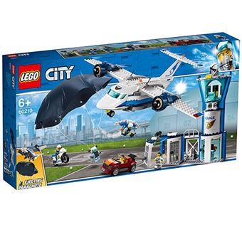 LEGO City Police 60210 Policía Aérea: Base de Operaciones