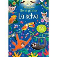 Mi pequeño libro de pegatinas - La selva