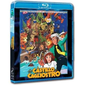 El castillo de Cagliostro - Blu-Ray + DVD -  Ed especial 35º aniversario