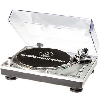 Tocadiscos Audio Technica AT-LP120 Plata
