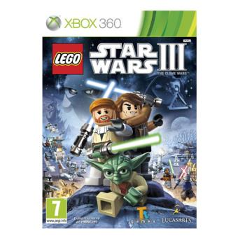 LEGO Star Wars III: The Clone Wars  Xbox 360