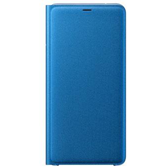 65b5479389b Funda Libro Samsung Wallet Cover para Galaxy A9 2018 Azul - Funda ...