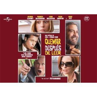 Quemar después de leer - DVD Ed Horizontal