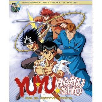 Box 1 Yu Yu Hakusho - Temporada 1 - Ep. 1 a 28 - Digi - Blu-Ray