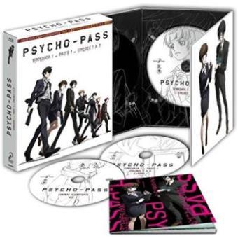Psycho Pass - Blu-Ray  Ed coleccionista Temporada 1 parte 1