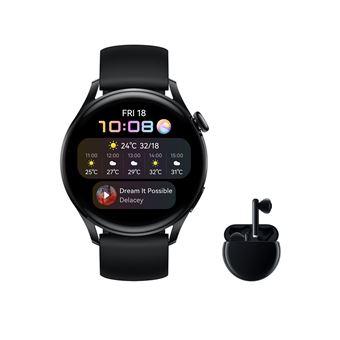 Smartwatch Huawei Watch 3 Negro + Freebuds 3
