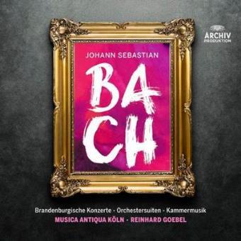 Johann Sebastian Bach. Brandenburg Ctos/orchestral Suites/chamber Music (13 CD)