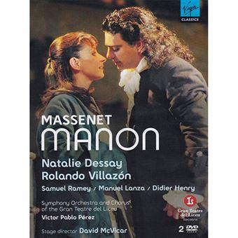 Massenet - Manon - DVD