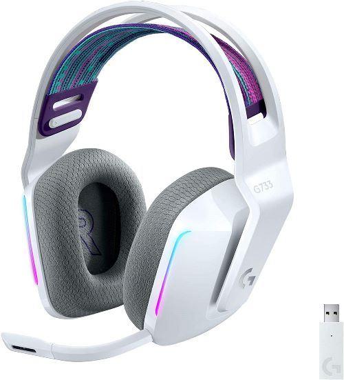 Headset gaming Logitech G G733 Blanco