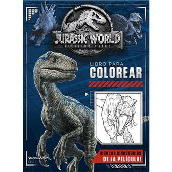 Jurassic World El reino caído: Libro para colorear