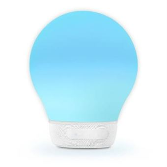 Altavoz Bluetooth Divoom Bright Connected AuraBulb Blanco