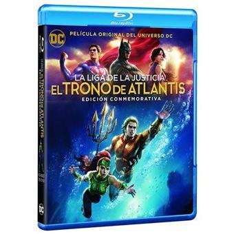 La Liga de la Justicia: El Trono de Atlantis  Ed Conmemorativa - Blu-Ray