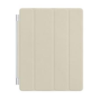 Apple iPad Smart Cover en piel color crema
