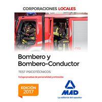 Bombero y Bombero-Conductor - Test psicotécnicos