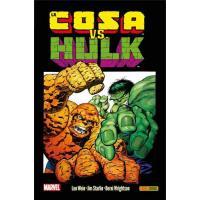 La Cosa Vs. Hulk. Grandes tortas